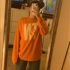 Orange Tennessee long sleeve shirt